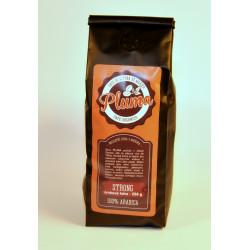 Káva Pluma strong zrno 250g