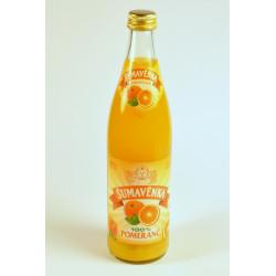 Šumavěnka pomerančový džus...