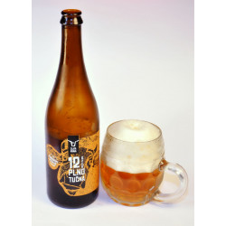 Pivo Zlatá kráva plnotučná...