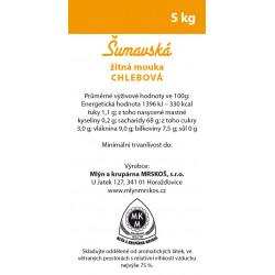 Mouka žitná Mrskoš 5kg